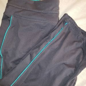 Tangerine sz. Large grey cropped athletic pants